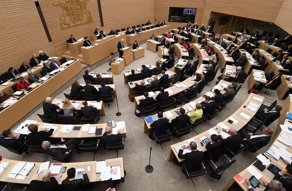 Der Landtag in Stuttgart hat den von der AfD beantragten Untersuchungsausschuss zum Thema Linksextremismus abgelehnt. Foto: dpa