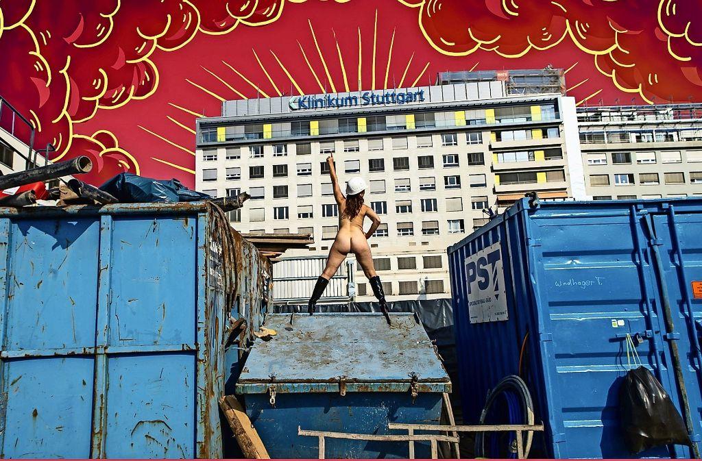Ein Motiv von Studentinnen der Kunstakademie. Foto: Archiv