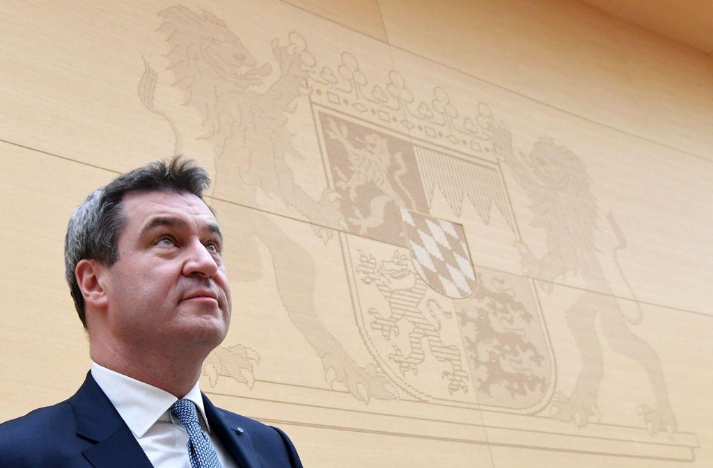 Markus Söder hat keine Probleme, sich von Ministern zu trennen. Foto: dpa