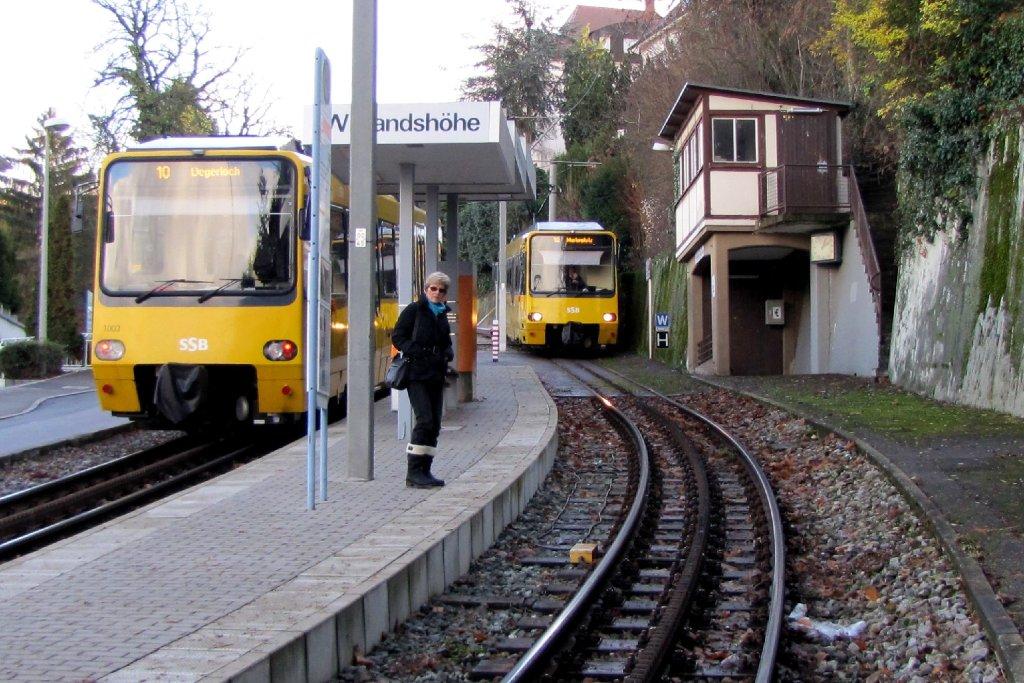 Aufgrund einer Fahrzeugstörung verkehrt die Zacke momentan nur zwischen Wielandshöhe und Degerloch. Foto: Leserfotograf remstal-knipser