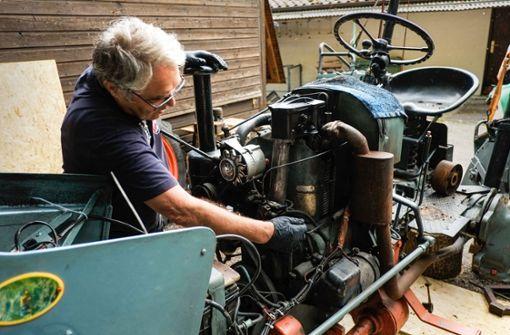 Mit dem Oldtimer-Traktor durch Bella Italia