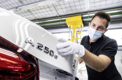 Daimler muss die Bänder im Werk Rastatt anhalten