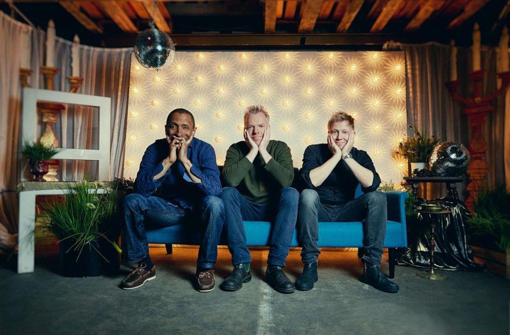 Das Tingvall Trio: Kontrabassist Omar Rodriguez Calvo, Schlagzeuger Jürgen Spiegel und Pianist Martin Tingvall Foto: Veranstalter