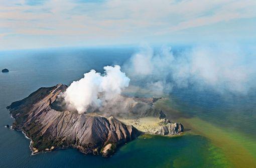 Viele  Tote bei Vulkanausbruch