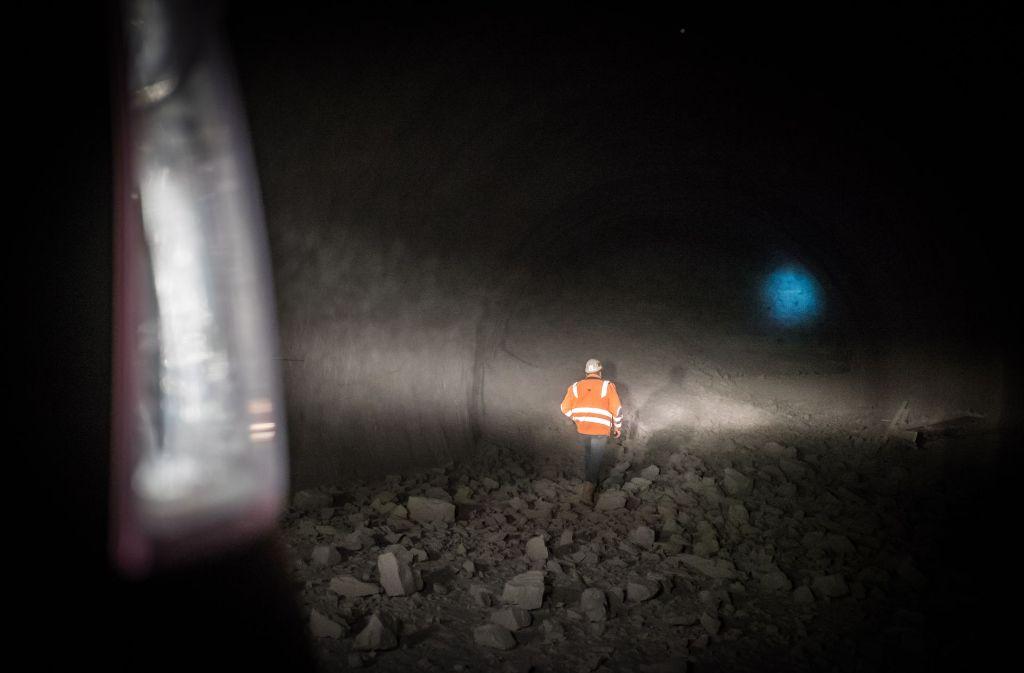 Der Tunnelbau unter Stuttgart ist nicht ohne Risiken. Foto: Lichtgut/Max Kovalenko