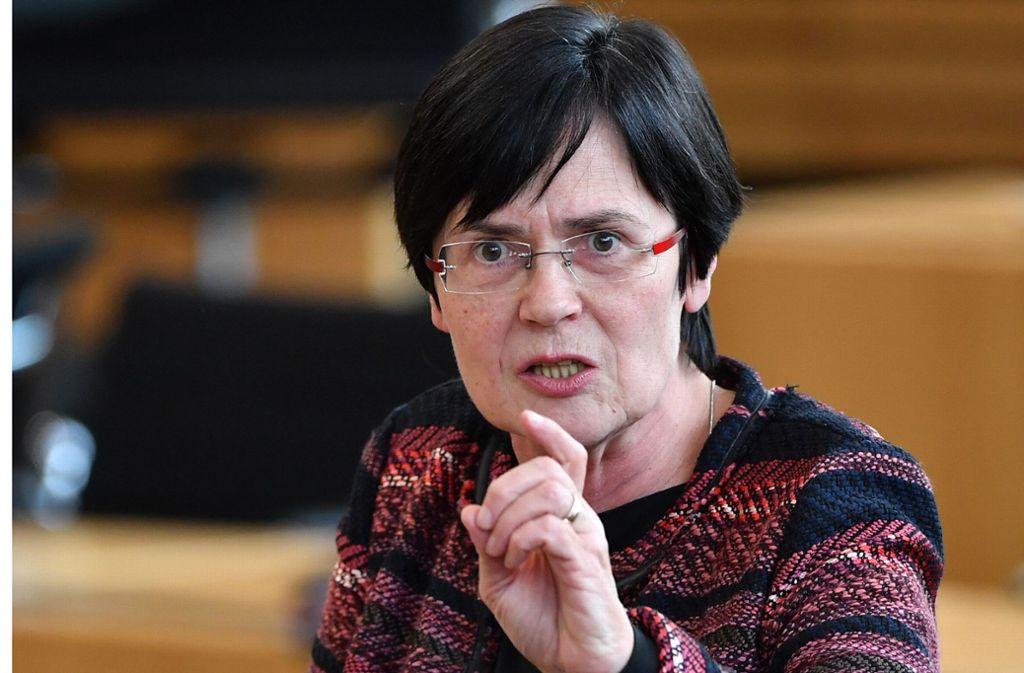 Nach Einschätzung von Beobachtern könnte Lieberknecht eine Art Übergangs-Regierungschefin bis zu Neuwahlen sein. Foto: dpa/Martin Schutt