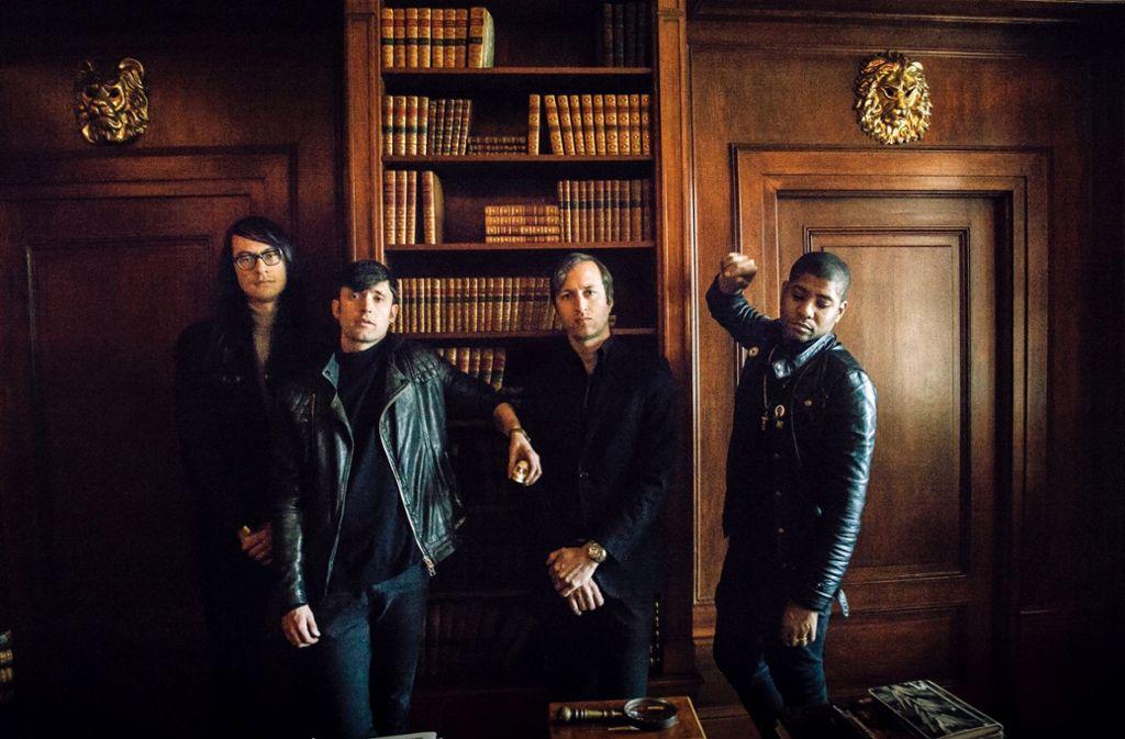 Die Band Algiers aus Atlanta Foto: Manufaktur