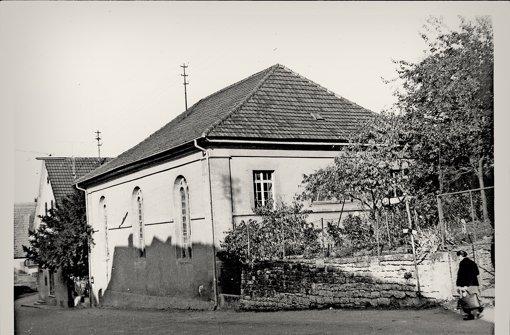 Eindrücke aus den 1950er-Jahren: die Synagoge in Remseck-Hochberg. Foto: Stadtarchiv Remseck (N109 F3/22)