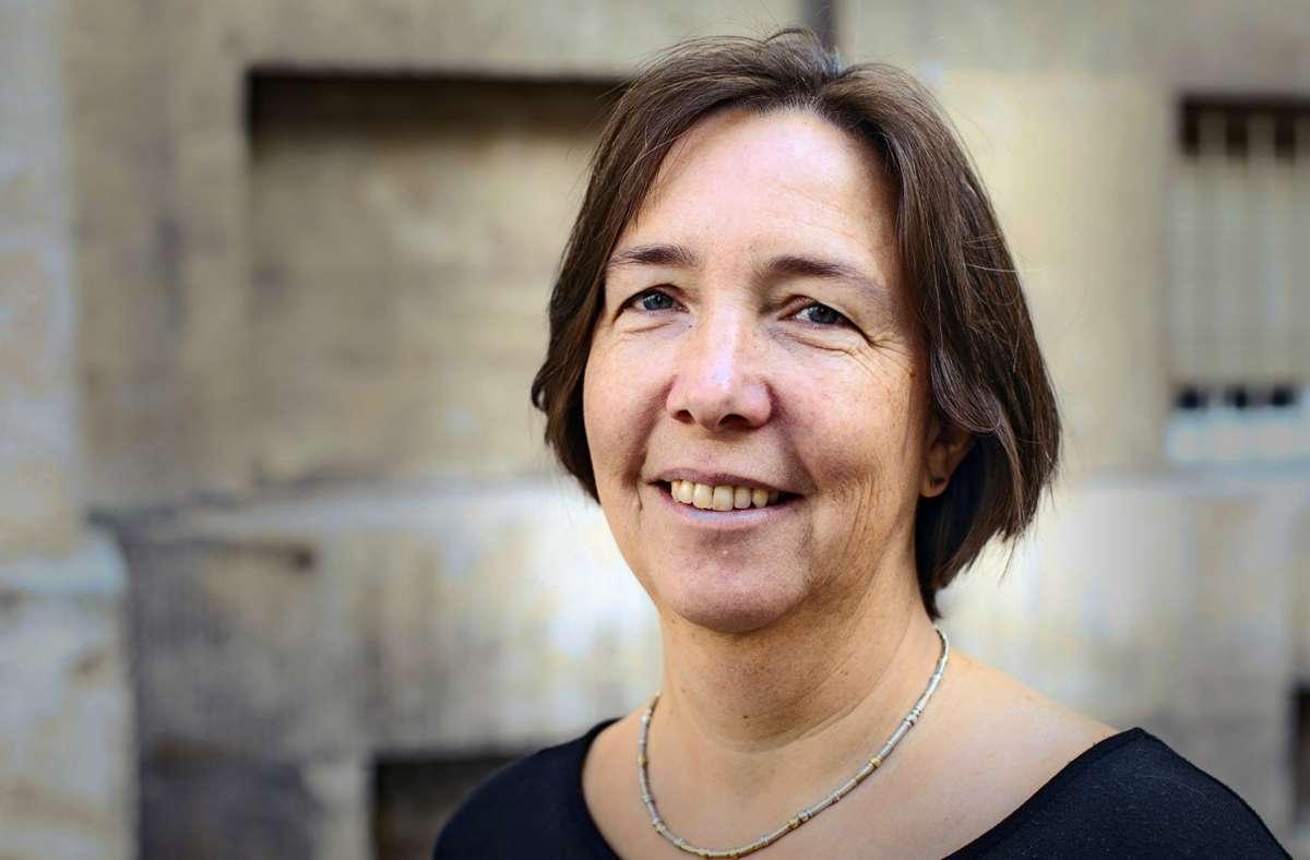 Julia Hirschmüller vom Gesundheitsladen an der Lindenspürstraße Foto: Mädchengesundheitsladen