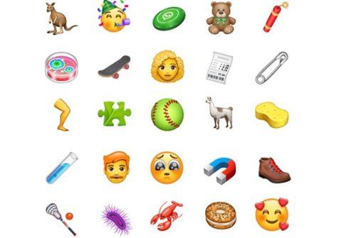 Diese neuen Emojis sind jetzt verfügbar