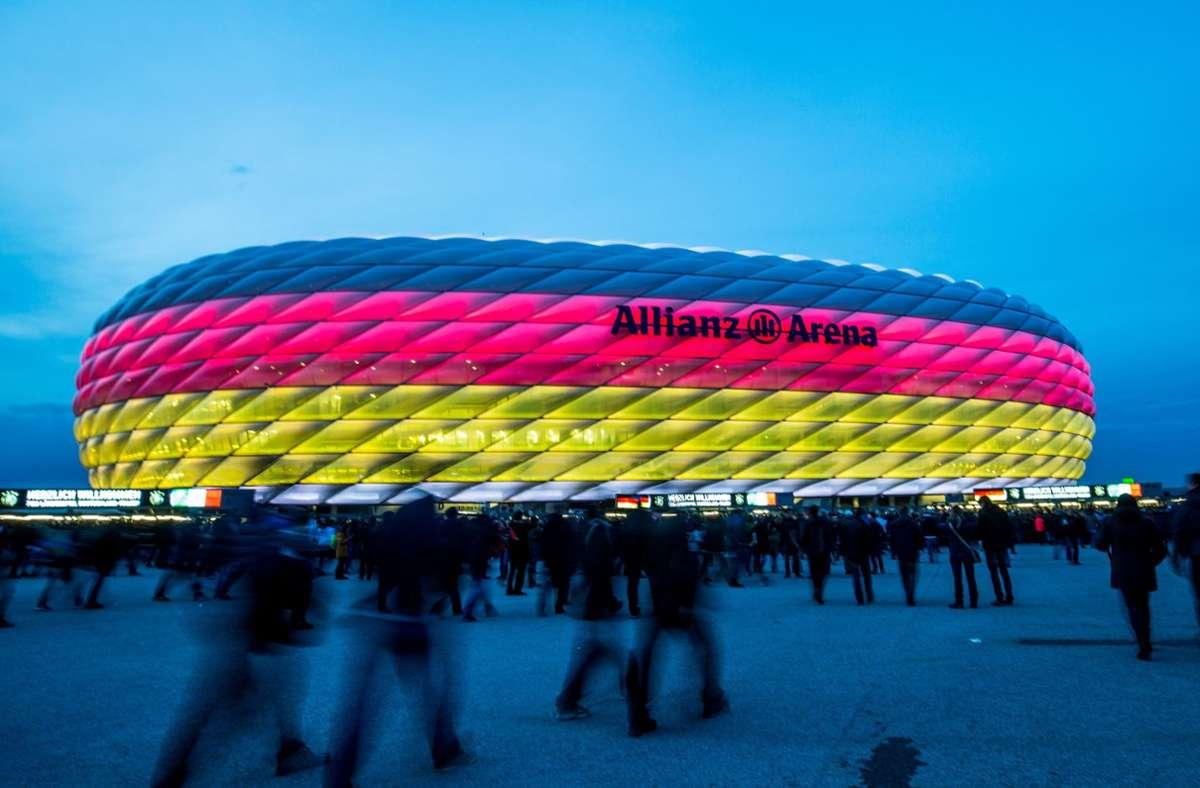 Die Allianz Arena wird Austragungsort von vier EM-Spielen. Foto: dpa/Marc Müller