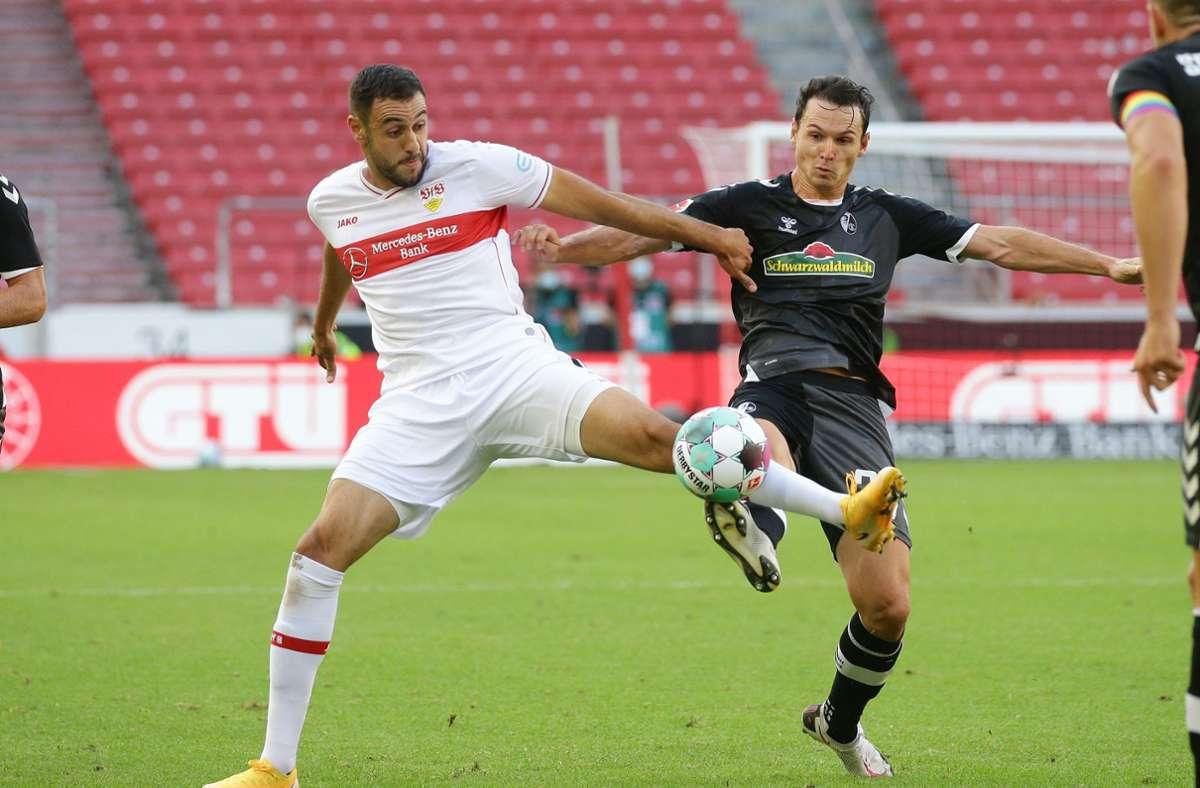 Mit seinen 29 Jahren hat Hamadi Al Ghaddioui zum ersten Mal in der Bundesliga gespielt. Foto: Pressefoto Baumann/Hansjürgen Britsch