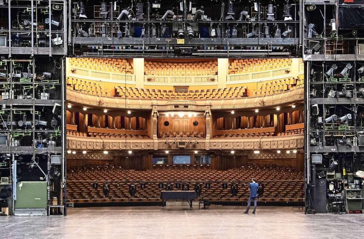 Die Entscheidung über die Sanierung und Erweiterung der Stuttgarter Oper rückt näher. Foto: dpa/Marijan Murat
