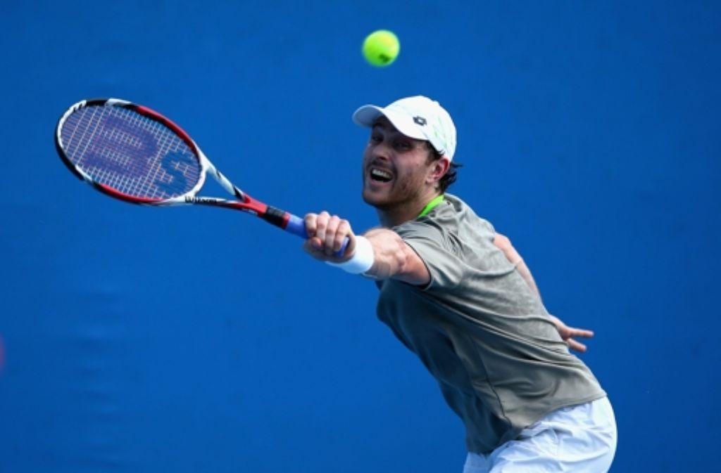 Nach der Qualifikation hat er bei den Australian Open auch die erste Runde im Hauptfeld überstanden: Michael Berrer. Foto: Getty Images AsiaPac