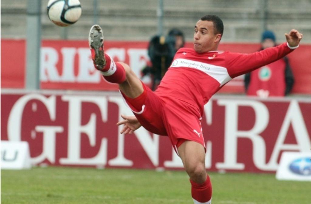 Jerome Kiesewetter will sich schnell beim VfB durchsetzen. Foto: Baumann