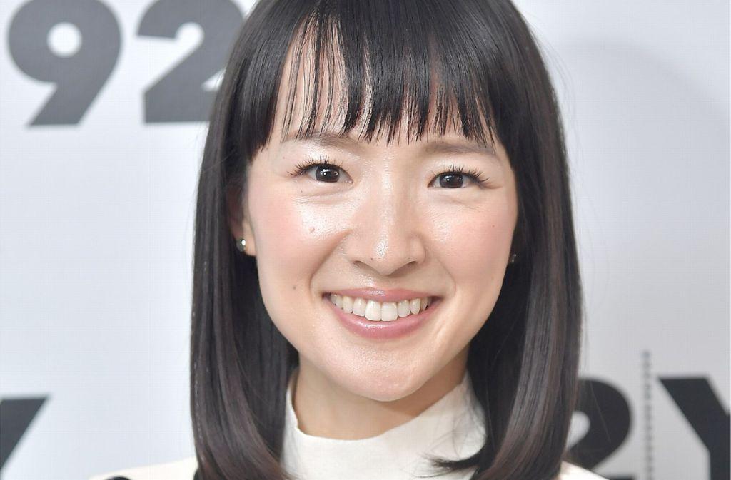 Die japanische Bestsellerautorin Marie Kondo ist mit ihrer Konmari-Aufräummethode mit einer eigenen Serie auf Netflix zu sehen. Foto: AFP