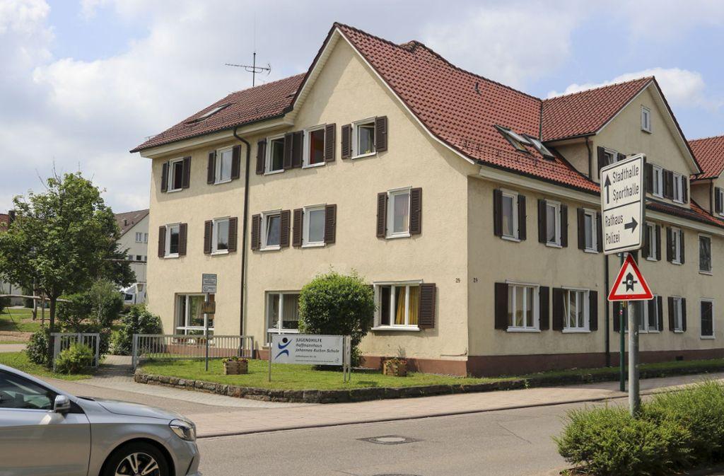 Das Hoffmannhaus ist   nach wie vor ein Kinderheim. Foto: factum/Granville