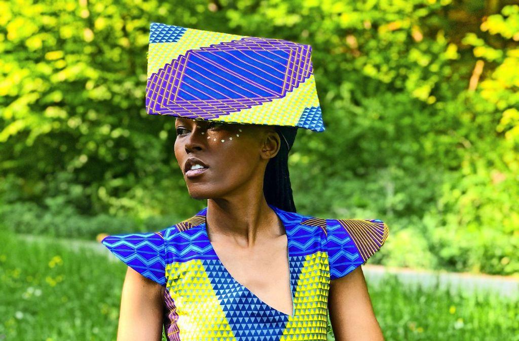 Die Sängerin Thabilé trotzt der Corona-Krise auf ihre Weise . Foto: Bimsum Production