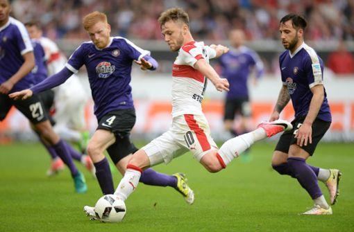 Eine Liga, zwei Welten: So unterschiedlich sind der VfB und Erzgebirge Aue