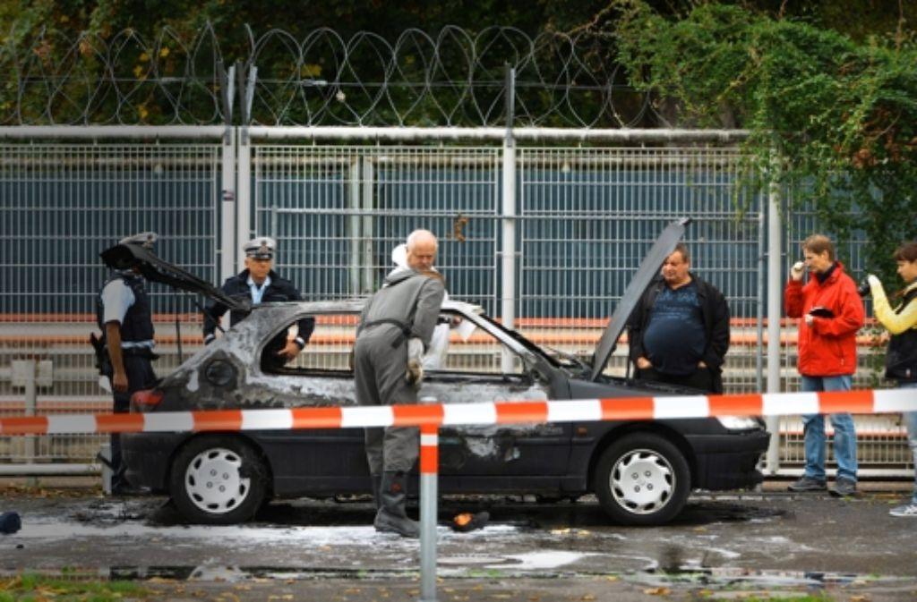 Florian H. war 2013 in seinem Auto am Cannstatter Wasen in Stuttgart verbrannt. Foto: dpa
