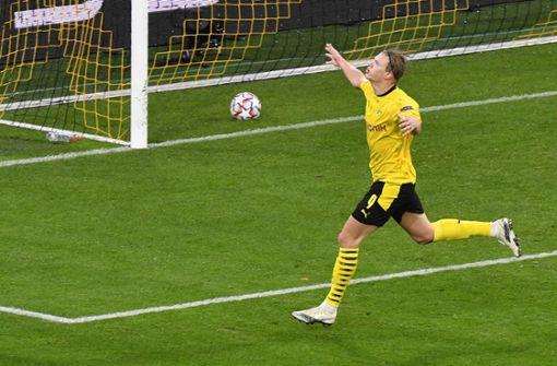 Sancho und Haaland treffen – BVB mit mühevollem Sieg