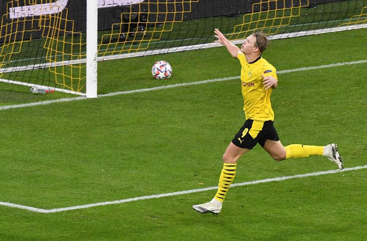Erling Haaland ist Dortmunds Torgarant. Foto: AP/Martin Meissner
