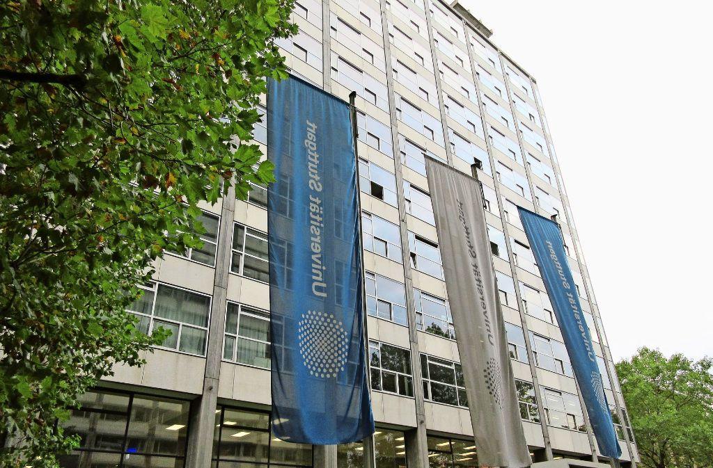 Auch die Gebäude der Uni Stuttgart sind in die Jahre gekommen. Foto: Häußler