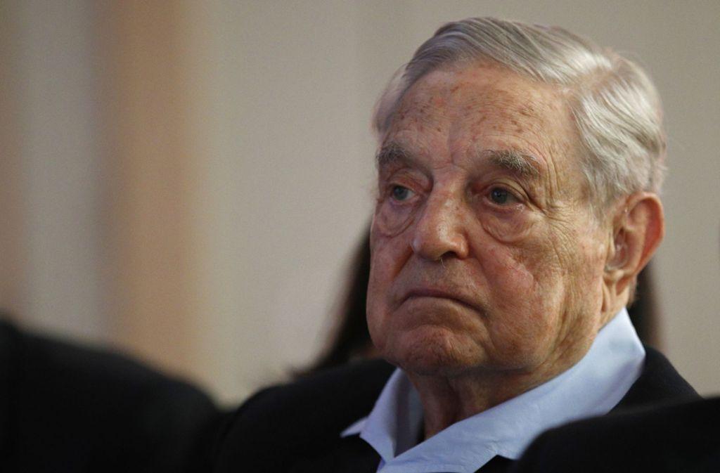 In den USA hat Soros seit Jahren die Demokraten unterstützt. Foto: AP