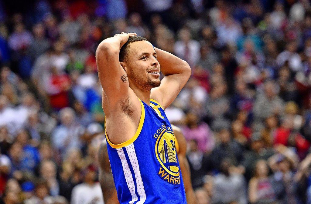 Der Basketballer Stephen Curry ist das kritische Aushängeschild von Under Armour. Foto: FR67404 AP