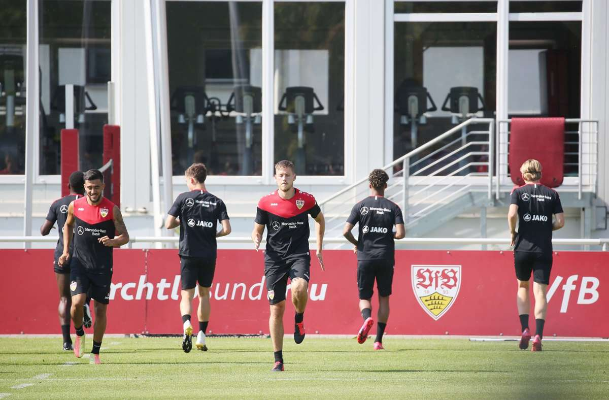 Der VfB Stuttgart ist in seine zweite Woche der Sommervorbereitung gestartet Foto: Baumann
