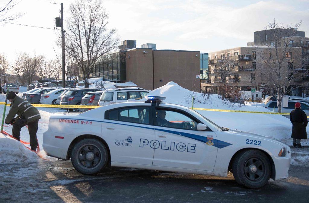 Bei dem Terroranschlag in Québec sind sechs Menschen getötet worden. Foto: AFP