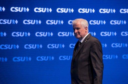 CSU will nationalkonservative Wähler einsammeln