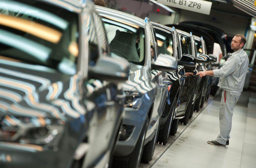 mercedes und audi r ckruf von fast einer million autos in. Black Bedroom Furniture Sets. Home Design Ideas