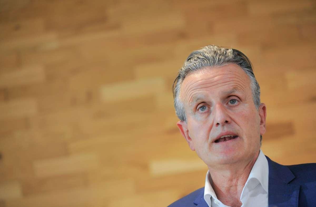 Frank Nopper (CDU) hatte bei der OB-Wahl am vergangenen Sonntag die Nase vorn. Foto: Lichtgut/Max Kovalenko