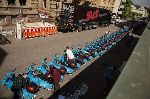 Stadtwerke wollen mit Rollern Gas geben