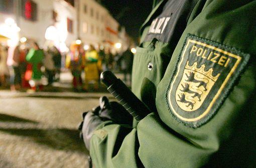 Polizei plant hohe Präsenz mit Waffen und Schutzausstattung