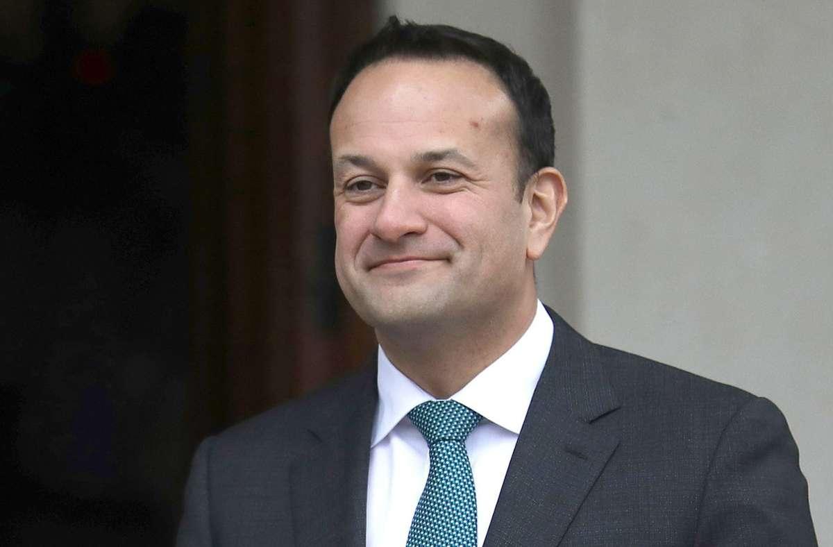 Leo Varadkar gehört zu Irlands Regierung. (Archivbild) Foto: dpa/Peter Morrison