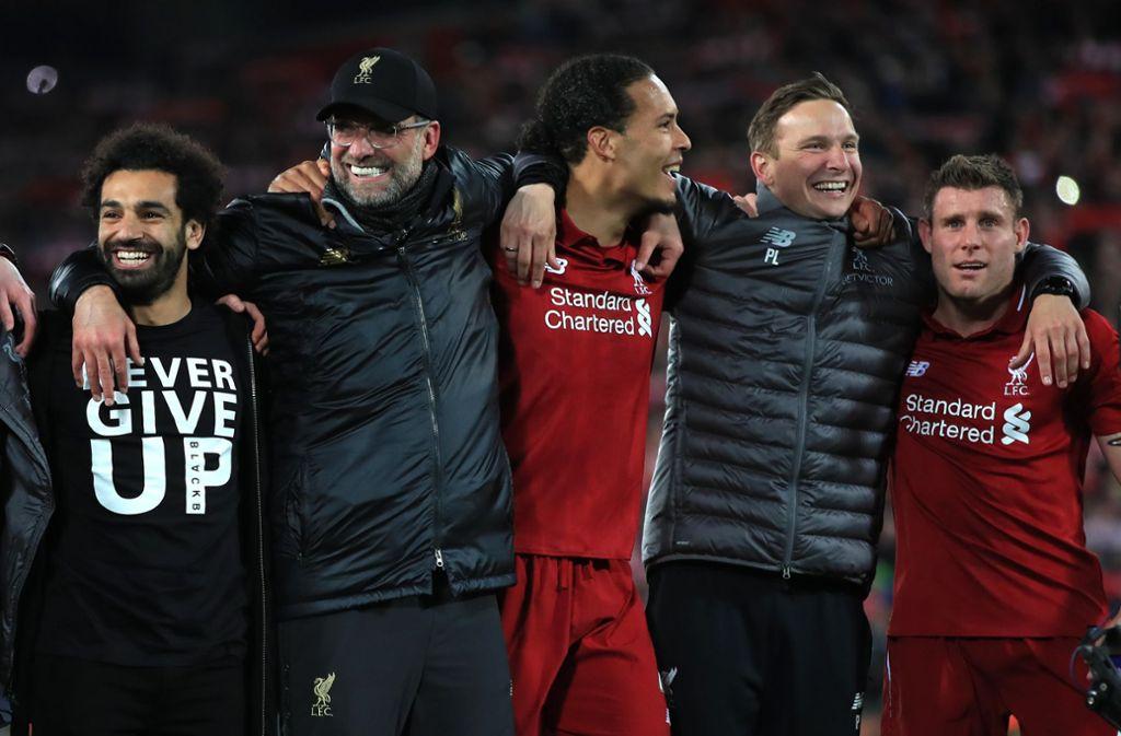 Jürgen Klopp und sein FC Liverpool stehen im Finale der Königsklasse. Foto: dpa