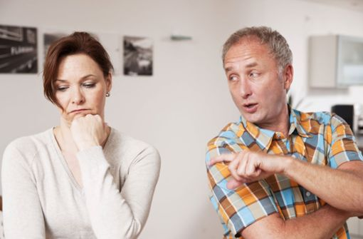 Paare im Dauerstress