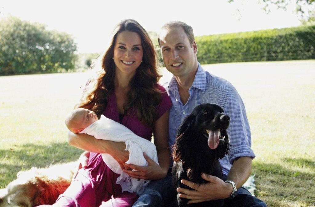 Cocker Spaniel Lupo gehört bei Herzogin Kate und Prinz William zur Familie. Foto: Getty Images/Michael Middleton