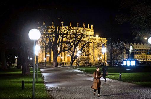 Sicherer Heimweg  durch den Schlossgarten