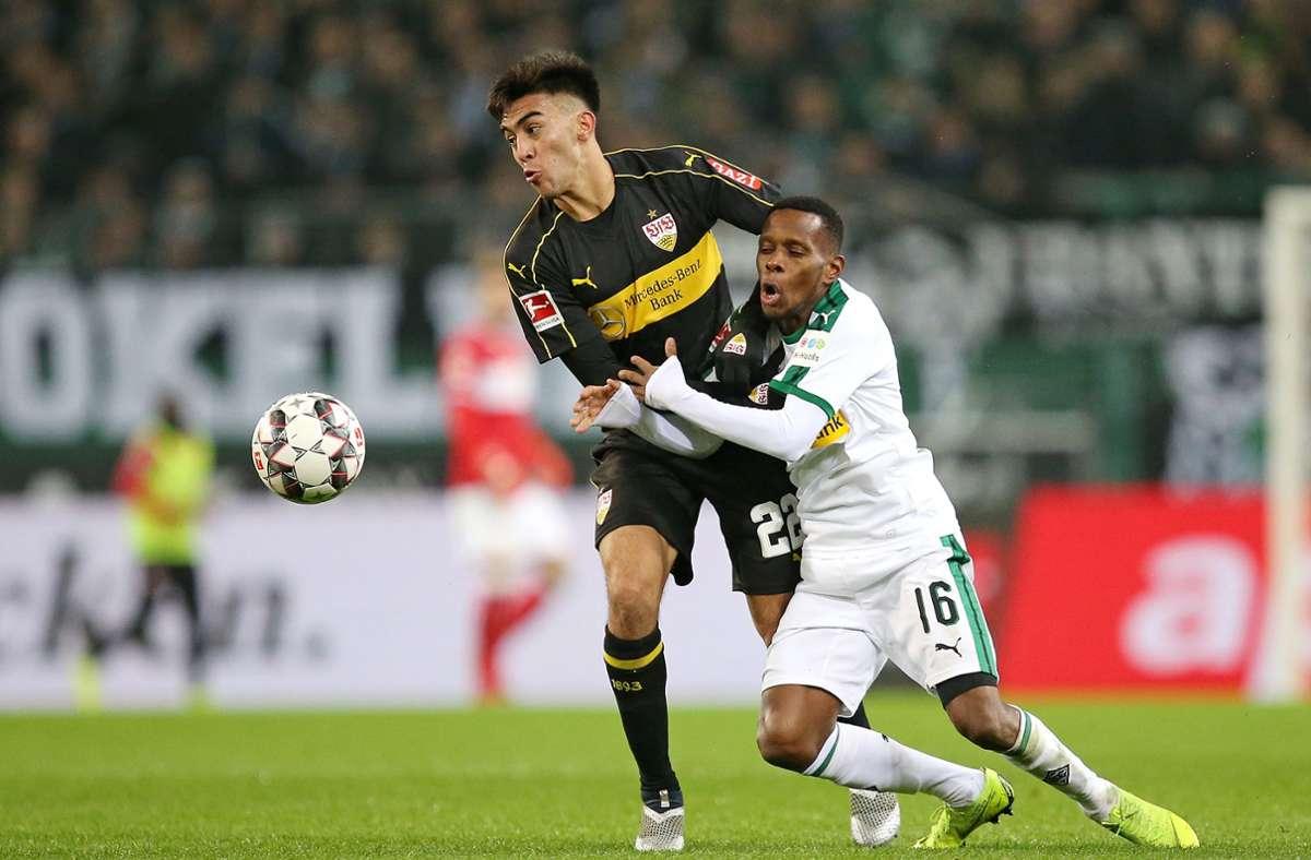 Für die Fohlen absolvierte der ehemalige Nationalspieler Guineas 132 Pflichtspiele. Zudem trug Traore die Trikots vom VfB Stuttgart, FC Augsburg sowie Hertha BSC. Foto: Pressefoto Baumann/Cathrin Müller