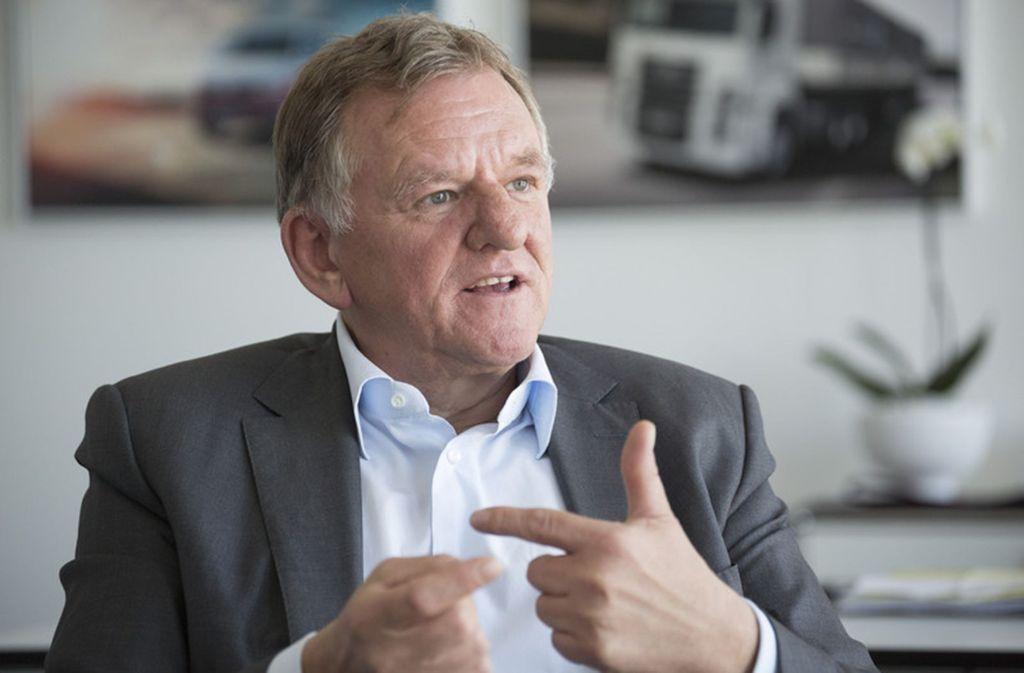 """""""Die Ernte wird erst im nächsten Jahrzehnt eingefahren"""", meint Andreas Renschler. Foto: laif"""