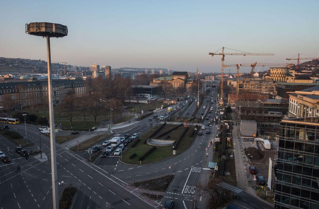 """Der Verein """"Aufbruch Stuttgart"""" plant für den 17. September einen Marsch über die Stuttgarter Kulturmeile. Foto: Lichtgut/Max Kovalenko"""