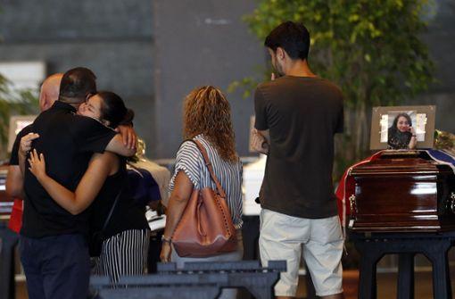 Einige Familien wollen nicht an zentraler Trauerfeier teilnehmen