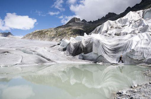 Wenn die Gletscher dunkel werden