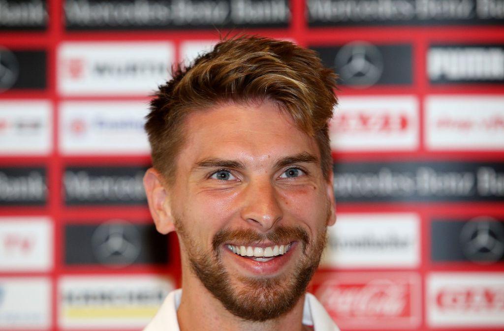 Torhüter Ron-Robert Zieler ist beim VfB Stuttgart angekommen. Foto: Pressefoto Baumann