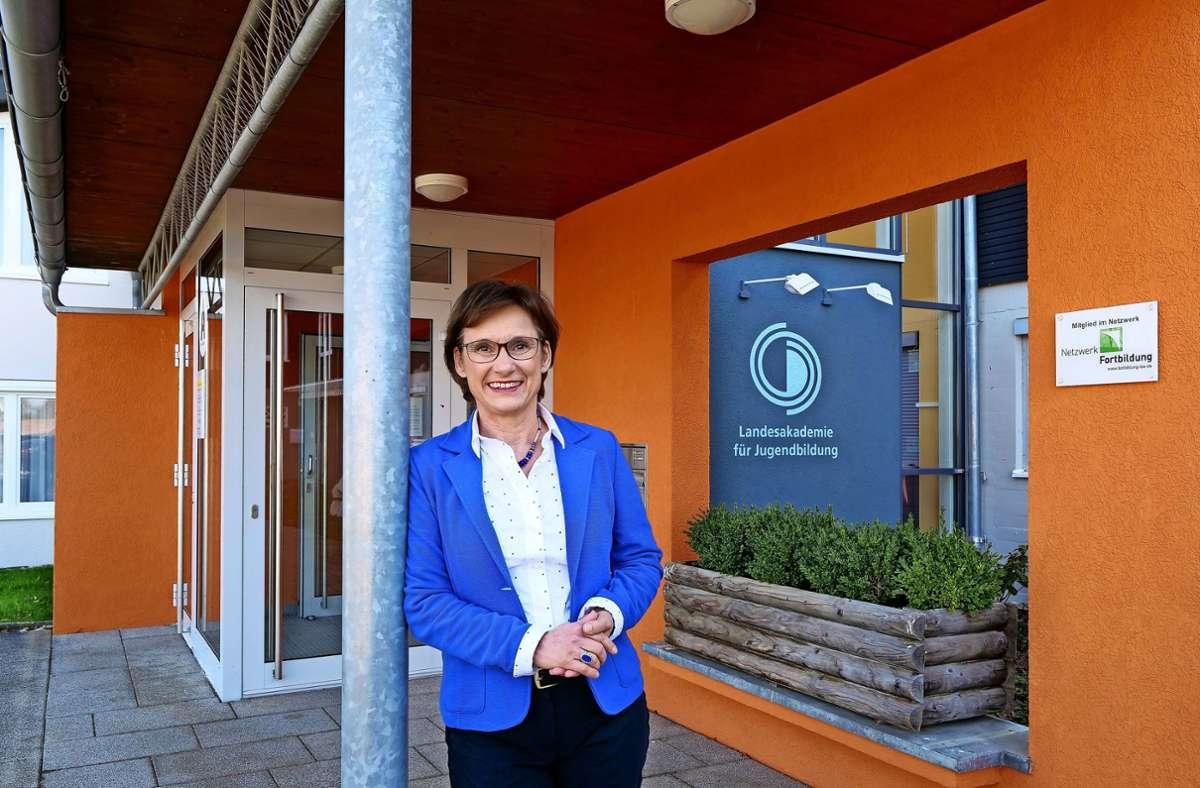 Sabine Kurtz engagiert sich ehrenamtlich in der Landesakademie für Jugendbildung mit Sitz in Weil der Stadt Foto: Simon Granville