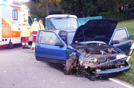 59-jähriger Autofahrer nach Frontalkollision verstorben