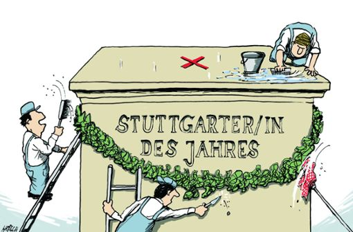 Wer wird Stuttgarter/-in des Jahres?